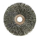 Crimped Wire Wheel Wire Brush, Arbor, 1''