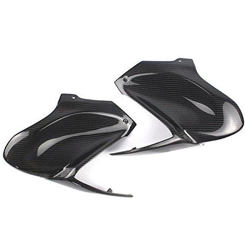 Kawasaki Carbon Fiber Cover - Carbon Fiber Gas Tank Side Cover Panel Fairing for 2017-2018 Kawasaki Z900