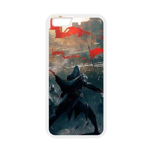 Ezio Auditore Da Firenze 010 coque iPhone 6 Plus 5.5 Inch Housse Blanc téléphone portable couverture de cas coque EOKXLLNCD15679