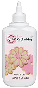 Wilton Pink Cookie Icing,10 oz
