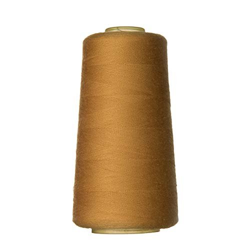 - Sewing Thread for Sewing and Embroidery Machine All Purpose Polyester Thread Cone for Quilting Serger Overlock Merrow Single Needle 3000 Yards Each