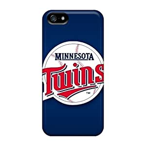 Iphone 5/5s XrH1639DgXj Custom Vivid Minnesota Twins Series Shock Absorbent Cell-phone Hard Covers -ErleneRobinson