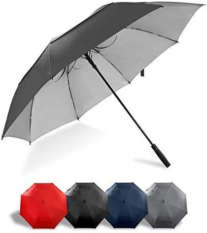 Lejorain 68 inch Large Windproof Golf Umbrella- Auto Open Oversize Umbrella Sun Protection for Men Women [並行輸入品]