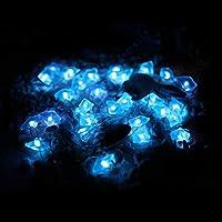 the latest ef447 35b9c HuTools Beach Theme String Lights Ocean Stone Indigo Blue ...