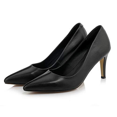 Sandales Compensées 36 AdeeSu Femme Noir 5 EU SDC06060 Noir 1z55Fqw