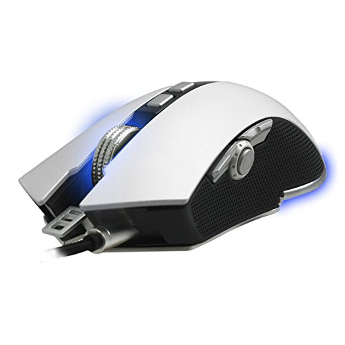 (Woxter Stinger RX1500 M USB Laser Mouse 4000DPI Right-Hand White - (USB, Game, Buttons presionados, Wheel, Laser, 4000 dpi))