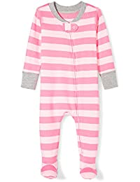 Girls' Organic Footed Zip-Front Sleep and Play