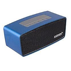 AUDIOBOX Bluetooth Speaker P5000 Great Portability MicroSD USB Ports USB Charging (Blue)