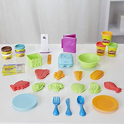 Play-Doh Kitchen Creations Grocery Goodies: Toys & Games