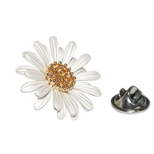 Shinywear Brooch Pin Daisy (Lapel pin)