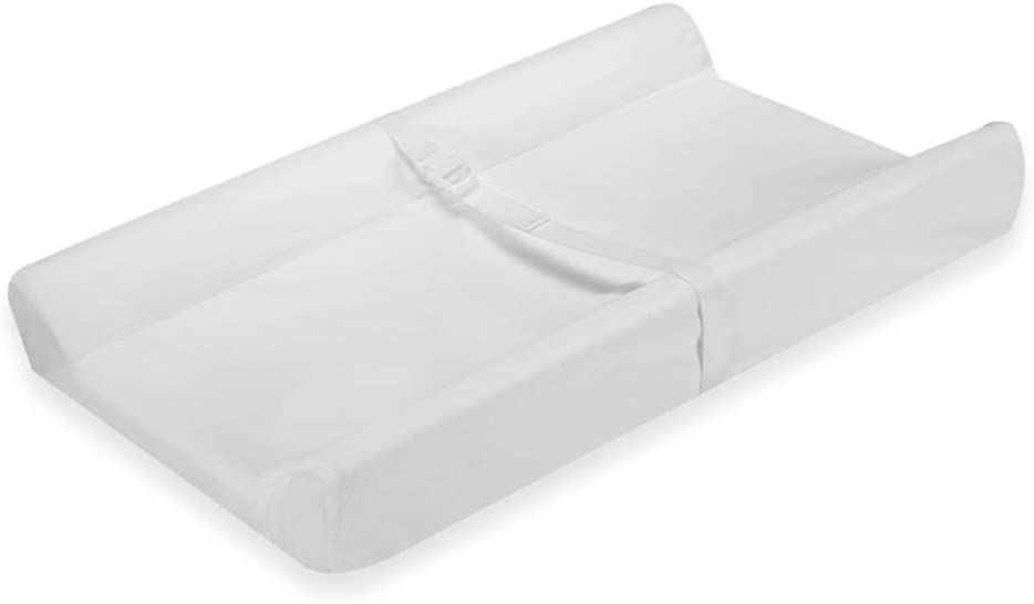 HANSHAN ベビーベッド おむつ取替えマット、多機能マッサージテーブル看護テーブル新生児用ベッドベビーベッド用化粧台交換服ステーションホワイト31×18×4インチ