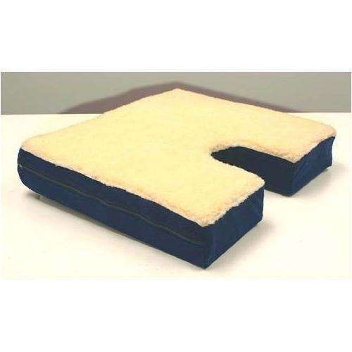 (Coccyx Cutout, Gel, Fleece Top Cushion)