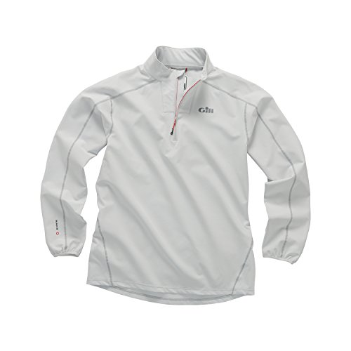 Gill Race Softshell Smock 1/4 Zip Silver MD