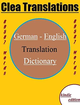 German to english dictionary german edition ebook clea for Farcical german translation
