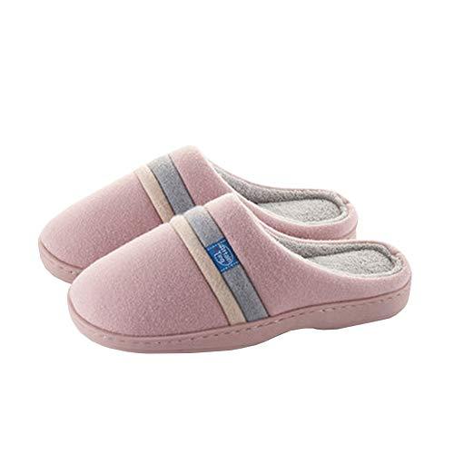 Coton Antidérapant Chaud Garder Chaussure Pantoufle Coton Intérieur Mode Unisexe Molleton Hiver Pink De Soie Chaussons Accueil rqxwO4rg