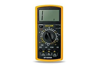 DELE Digital Multimeter Manual DT9205A With Pen Tester