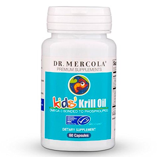 Mercola Krill Oil Kids Capsules product image