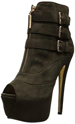 Luichiny Women's Hi N Low Boot