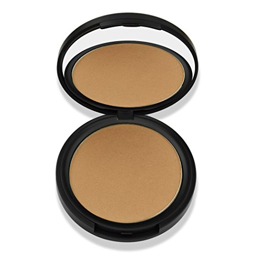 Best Organic 100% Natural Vegan Matte Bronzer Makeup, Made in USA, Pressed Bronzer Powder by BaeBlu, Touch of Sun