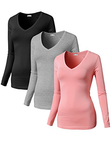 H2H Womens Sleeve Cotton T Shirt product image