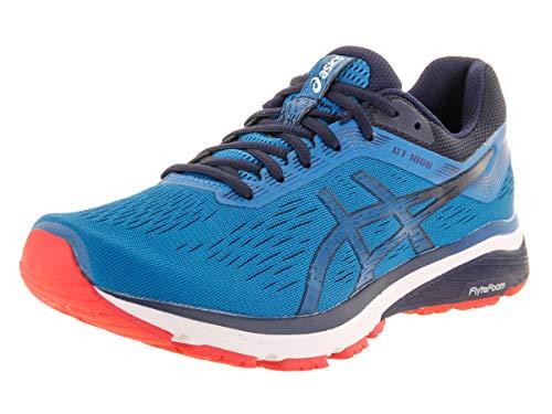- ASICS New Men's GT-1000 7 Running Shoe Race Blue/Peacoat 13