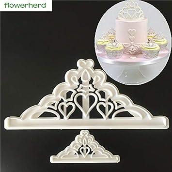 IDEA - Molde de silicona para decoración de tartas con perlas 3D, para decoración de