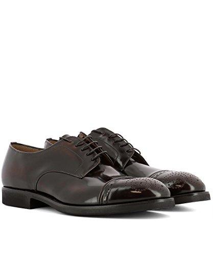 Cuir Marron Lacets 31143 Homme Premiata Chaussures À CtwqgxHW