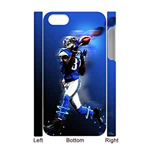 3D Yearinspace Calvin Johnson IPhone 4/4s Cases Calvin Johnson Madden 2013 Cover Protector For Girls, Iphone 4 Cases For Guys, {White} by ruishername