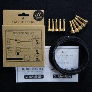 Free The Tone SLK-SLPro-55 (ストレートプラグ x5 & L型プラグ x5) ソルダーレスケーブルキット   B00KREXUHY