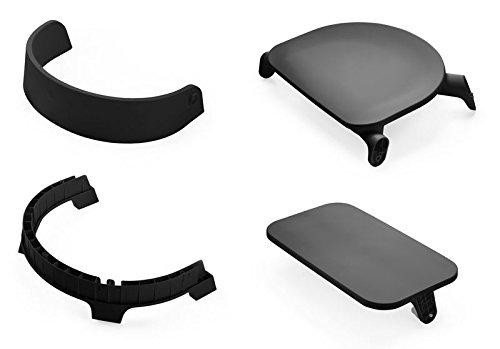 Stokke Steps Chair Seat, Black