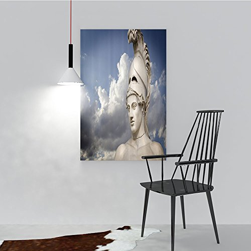 Philip C. Williams Art Wall Decor Greek Sculpture of The General Pericles Clouds The Back Mysticism Greek Perfect Wall Decoration W36 x H48