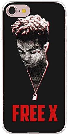 Noir Blanc Xxxtentacion iPhone 6 Coque triple X 6S Coque XXX ...