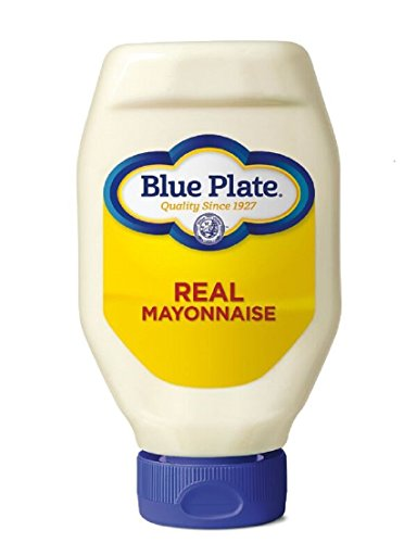 Blue Plate  Mayonnaise, Squeeze, 18 Ounce (The Best Po Boy Sandwich In New Orleans)