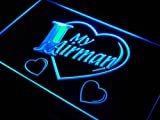 I Love My Airman Force Military LED Sign Neon Light Sign Display j924-b(c)