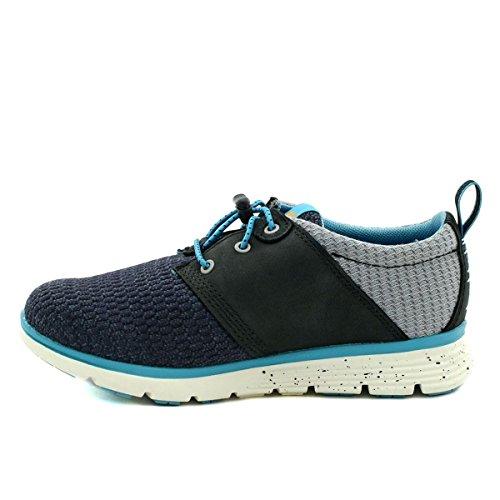 TIMBERLAND A12GX blaue Turnschuhe Oxford-Schuhe Babys Schneeregen Jugend Schnürsenkel Sleet