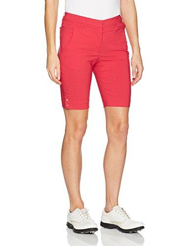 Bette & Court Womens Flex Smooth Fit Short, Crimson, 12