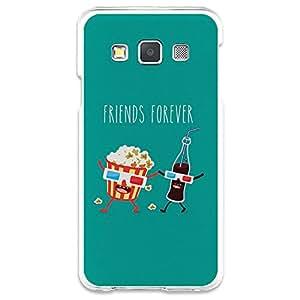 Funda Gel Samsung Galaxy A3 BeCool Palomitas y Cola para Siempre