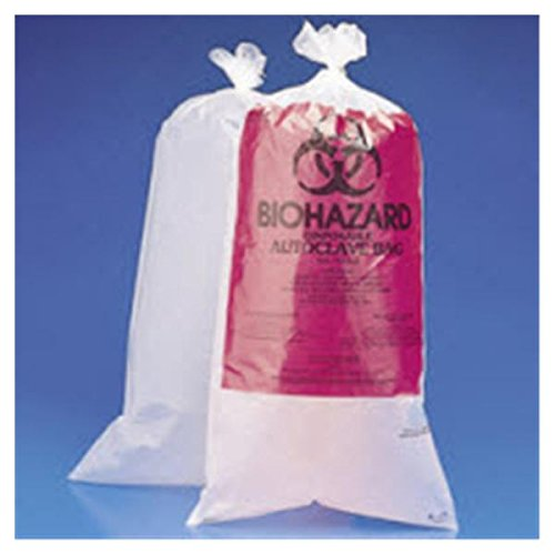 WP000-49-97 49-97 49-97 Bag Biohazard 9x6'' Polyethylene Clear 1000/Ca Medical Action Industries by Medical Action Industries