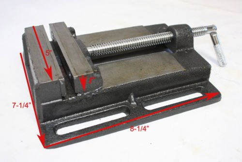 5'' DRILL PRESS VISE / PIPE CLAMPING HOLDING CAST IRON VISE CHIVD5 by I_S IMPORT