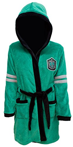 Harry Potter Slytherin Robe,Black,Large / X-Large -