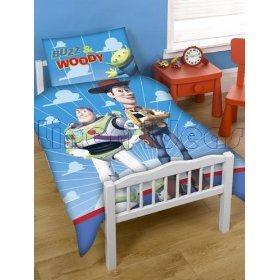 linge de lit toy story Disney Toy Story Buzz et Woody Junior / Lit bébé lit housse de  linge de lit toy story