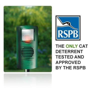 CATwatch CATWATCH - Dispositivo ahuyentador para gatos por ultrasonido, aprobado por la RSPB: Amazon.es: Jardín