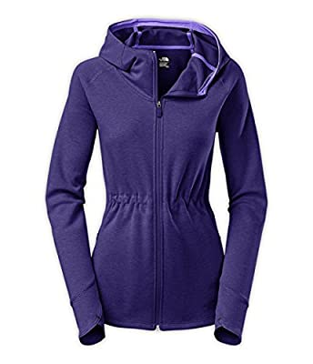 The North Face Women's Wrap-ture Full ZIP Jacket Large Purple