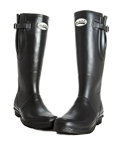 Rockfish Black Tall Original Wellies Wellington Boots Neoprene x4PwqIZI