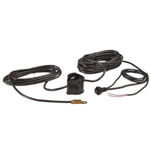 Lowrance PDRT-WSU 83/200 kHz Pod Style Transducer - Remote Temperature (Transducer Thru Hull Plastic Mount)