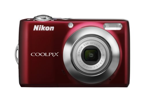 Nikon Coolpix L22 12.0MP Digital Camera with 3.6x Optical Zoom and 3.0-Inch LCD - Detection Nikon Motion