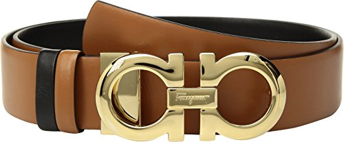 Salvatore Ferragamo Women's 23A564 Sella/Nero 100 (40'' Waist) by Salvatore Ferragamo