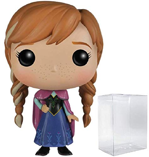 Disney: Frozen - Anna #81 Funko Pop! Vinyl Figure (Includes Compatible Pop Box Protector Case)]()