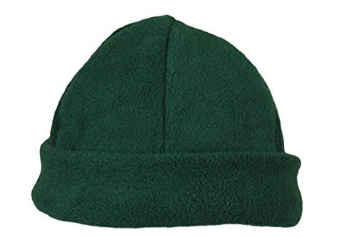 mujeres de forro Gorro hecho Green hombres Hat muy Ski Dark Beanie para de polar invierno y Fleece cálido PddCq