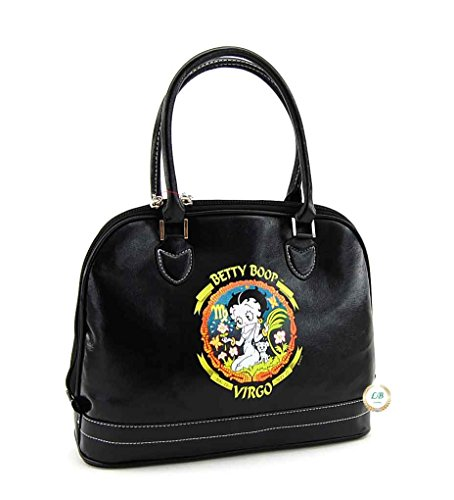 Betty Boop Zodiac Purse with Top Handles (Virgo)